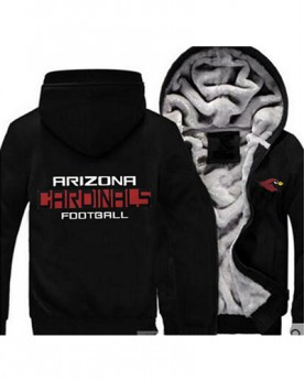 LYBAC USA Rugby NFL Arizona Cardinals Football Zipper With Hat Hoodies Team Sports Jacket