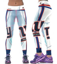 YDC099 High Waist Normal Quality NFL New York Giants Football Team Sports Leggings