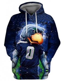 FGS0245 3D Digital Printed NFL Philadelphia Eagles Football Team Sport Hoodie Unisex Fit Style Hoodie With Hat