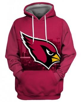 FGS0251 3D Digital Printed NFL Arizona Cardinals Football Team Sport Hoodie Unisex Fit Style Hoodie With Hat