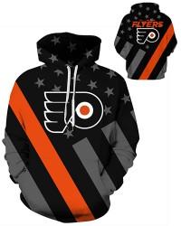 DQYDM452 3D Digital Printed NHL Philadelphia Flyers Hockey Team Sport Hoodie Unisex Hoodie With Hat