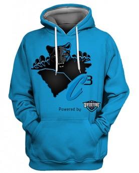 FGS0510 3D Digital Printed NFL Carolina Panthers Football Team Sport Hoodie Unisex Fit Style Hoodie With Hat