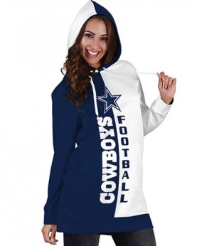 DBHS012 Pre-Order 3D Printed NFL Dallas Cowboys Football Team Sport Hoodie Dress