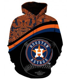 FGF6984 3D Digital Printed MLB Houston Astros Baseball Team Sport Hoodie With Hat