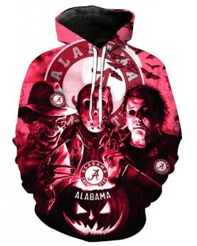 FGD7246 3D Digital Printed American University Alabama Crimson Tides Football Team Sport Hoodie Unisex Hoodie With Hat
