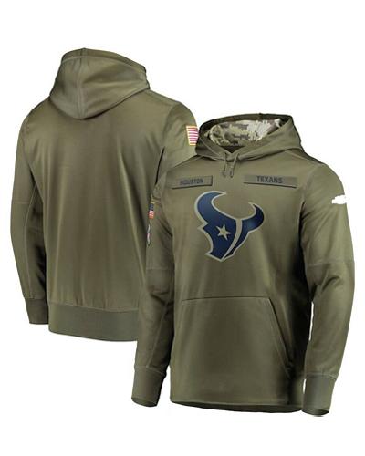 wholesale dealer 3828e fc551 LK001-HT Men's Houston Texans Olive Salute To Service ...