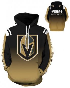 DQYDM330 3D Digital Printed NHL Las Vegas Golden Knights Hockey Team Sport Hoodie Unisex Hoodie With Hat