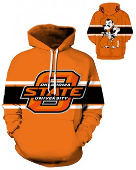 DQYDM333 3D Digital Printed American University Oklahoma State Cowboys Football Team Sport Hoodie Unisex Hoodie With Hat