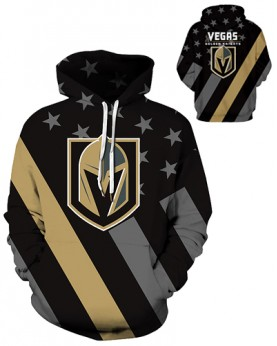 DQYDM344 3D Digital Printed NHL Las Vegas Golden Knights Hockey Team Sport Hoodie Unisex Hoodie With Hat