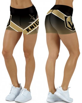 DBDQ022 High Waist NHL Las Vegas Golden Knights Hockey Team 4Needle 6Thread Stitcking Sports Shorts