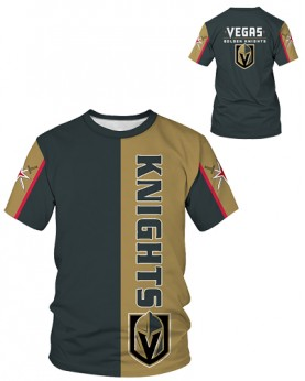 DBIW005 Pre-Order High Quality NHL Las Vegas Golden Knights Hockey Team Sports Round-Neck Unisex Tshirt