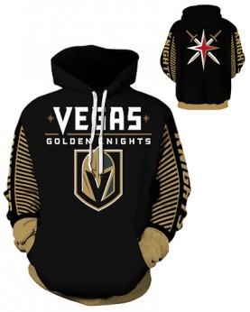 DQYDM434 3D Digital Printed NHL Las Vegas Golden Knights Hockey Team Sport Hoodie Unisex Hoodie With Hat