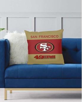 DFAKPL001 NFL San Francisco 49ers Teams Football Home Decor Sofa Decorative Cushion Pliiow Case Cover Prorector