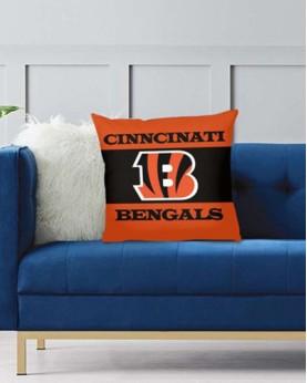 DFAKPL002 NFL Cincinnati Bengals Teams Football Home Decor Sofa Decorative Cushion Pliiow Case Cover Prorector