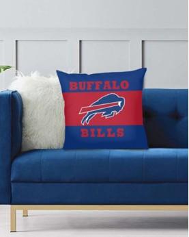 DFAKPL003 NFL Buffalo Bills Teams Football Home Decor Sofa Decorative Cushion Pliiow Case Cover Prorector