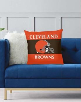 DFAKPL004 NFL Cleveland Browns Teams Football Home Decor Sofa Decorative Cushion Pliiow Case Cover Prorector