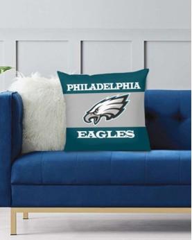 DFAKPL007 NFL Philadelphia Eagles Teams Football Home Decor Sofa Decorative Cushion Pliiow Case Cover Prorector