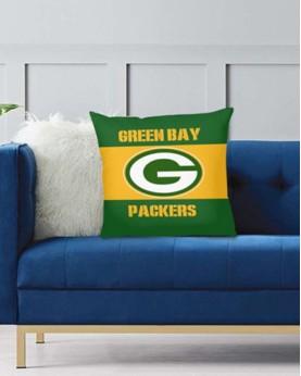 DFAKPL008 NFL Green Bay Packers Teams Football Home Decor Sofa Decorative Cushion Pliiow Case Cover Prorector