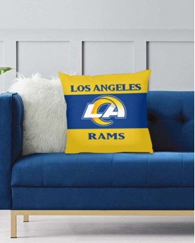 DFAKPL010 NFL Los Angeles Rams Teams Football Home Decor Sofa Decorative Cushion Pliiow Case Cover Prorector