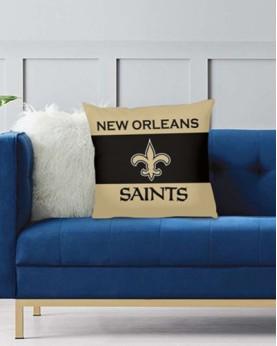 DFAKPL011 NFL New Orleans Saints Teams Football Home Decor Sofa Decorative Cushion Pliiow Case Cover Prorector