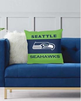 DFAKPL012 NFL Seattle Seahawks Teams Football Home Decor Sofa Decorative Cushion Pliiow Case Cover Prorector