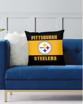 DFAKPL013 NFL Pittsburgh Steelers Teams Football Home Decor Sofa Decorative Cushion Pliiow Case Cover Prorector