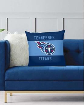 DFAKPL014 NFL Tennessee Titans Teams Football Home Decor Sofa Decorative Cushion Pliiow Case Cover Prorector