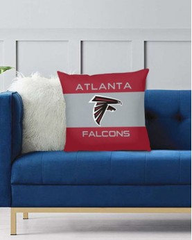 DFAKPL016 NFL Atlanta Falcons Teams Football Home Decor Sofa Decorative Cushion Pliiow Case Cover Prorector