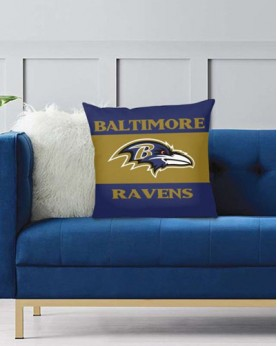 DFAKPL017 NFL Baltimore Ravens Teams Football Home Decor Sofa Decorative Cushion Pliiow Case Cover Prorector