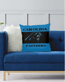 DFAKPL018 NFL Carolina Panthers Teams Football Home Decor Sofa Decorative Cushion Pliiow Case Cover Prorector