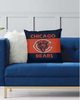 DFAKPL019 NFL Chicago Bears Teams Football Home Decor Sofa Decorative Cushion Pliiow Case Cover Prorector