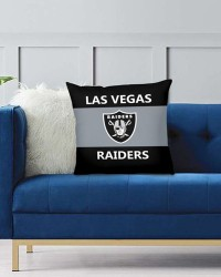 DFAKPL031 NFL Las Vegas Raiders Teams Football Home Decor Sofa Decorative Cushion Pliiow Case Cover Prorector