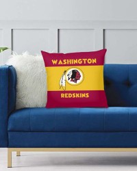 DFAKPL032 NFL Washington Redskins Teams Football Home Decor Sofa Decorative Cushion Pliiow Case Cover Prorector