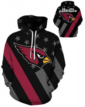 DQYDM472 3D Digital Printed NFL Arizona Cardinals Football Team Sport Hoodie Unisex Hoodie With Hat