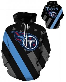 DQYDM475 3D Digital Printed NFL Tennessee Titans Football Team Sport Hoodie Unisex Hoodie With Hat