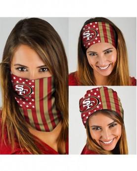 HD-DFAK006 New Style NFL San Francisco 49ers Football Team Multifunctional Seamless Magic Bandanas Scarfs