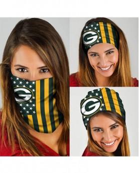 HD-DFAK013 New Style NFL Green Bay Packers Football Team Multifunctional Seamless Magic Bandanas Scarfs