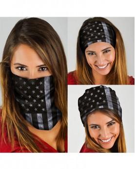 HD-MG005 New Style USA Flag Design Outdoor Sport Multifunctional Seamless Tube Magic Bandanas Scarfs