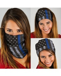 HD-MG168 New Style USA Flag Design Outdoor Sport Multifunctional Seamless Tube Magic Bandanas Scarfs