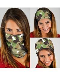 HD-MG169 New Style Camouflage Design Outdoor Sport Multifunctional Seamless Tube Magic Bandanas Scarfs