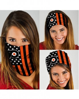 HD-DFAK0340 New Style USA NHL Philadelphia Flyers Team Multifunctional Seamless Magic Bandanas Scarfs