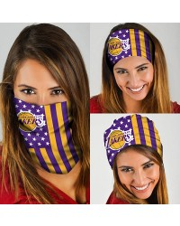 HD-DFAK0341 New Style USA NBA Los Angeles Lakers Basketball Team Multifunctional Seamless Magic Bandanas Scarfs