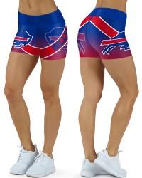 DBDQ052 High Waist NFL Buffalo Bulls Football Team 4Needle 6Thread Stitcking Sports Shorts