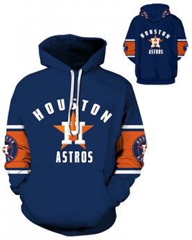 DQYDM331 3D Digital Printed MLB Houston Astros Baseball Team Sport Hoodie Unisex Hoodie With Hat