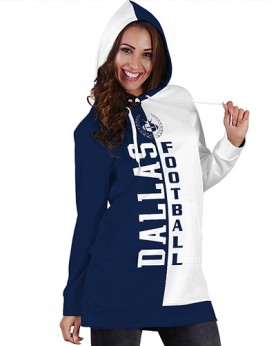 DBHS004 Pre-Order 3D Printed NFL Dallas Cowboys Football Team Sport Hoodie Dress